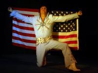 Elvis lookalike tribute