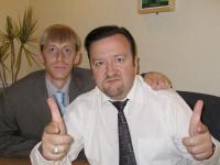 Ricky Gervais and Gareth Keenan /UK